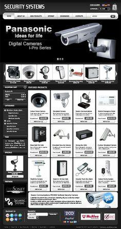 Security System Shop VirtueMart Templatedfg