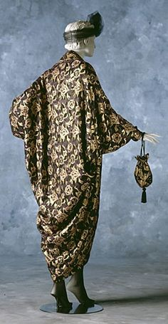 paul poiret designs | Folkwear pattern #503 Poiret Cocoon Coat ... | POIRET, Paul: Desi...