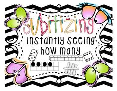First Grade Wow: Free mini unit to help kids to learn to subitize