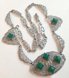 Vintage Jewelry Necklace / Antique Art by AntiqueJewelryForFun