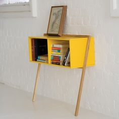 Then Leaning Man Console Table- I could diy this