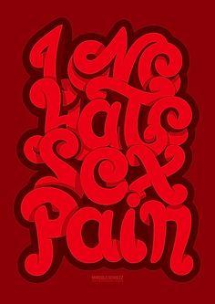 typography illustration graphic designs