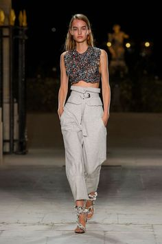 Isabel Marant spring/summer 2017 - Parijs Fashion Week