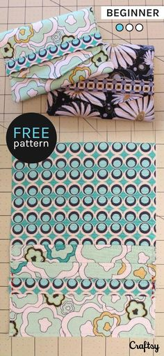 This easy reciept holder pattern makes a great gift or is the perfect way to make sure you don't lose important lists, receipts, or gift cards. Get this beginner sewing pattern for free at Craftsy! https://www.craftsy.com/sewing/patterns/receipt-holder-two-pocket-case-/209194?cr_linkid=Pinterest_Sew_OP_BLOG_SewingBags&cr_maid=91396&regMessageId=11&cr_source=Pinterest&cr_medium=Social Engagement