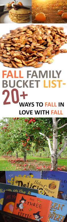 Fall Family Bucket List- 20+ Ways to Fall in Love with Fall