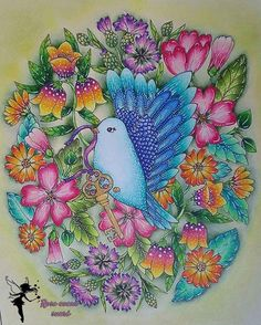 Blomstermandala, de Maria Trolle #blomstermandala  #blomstermandalamålarbok