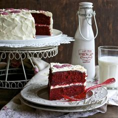I've been making red velvet cake for over 40 years but this one MIGHT make me alter my recipe........