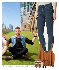 """""""Sunny day in Australia with Liam"""" by heslovely ❤ liked on Polyvore featuring AllSaints, Billabong, Casetify and Cartier"""
