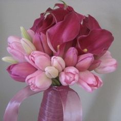 ramos de boda con tulipanes 2