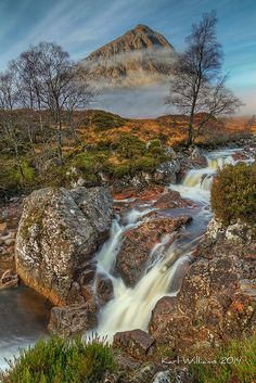The Buachaille (2) | Buachaille Etive Mor from Glen Etive; R… | Flickr