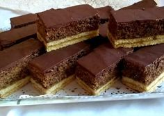 Hungarian Desserts, Hungarian Cake, Hungarian Recipes, Torte Cake, Cake Bars, Sweet Recipes, Cake Recipes, Christmas Baking, Diy Food