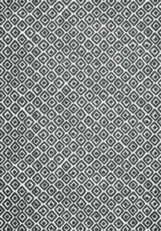 INDIAN DIAMOND, Black, T10661, Collection Ceylon from Thibaut Diamond Wallpaper, View Wallpaper, Construction Wallpaper, Graphic Patterns, Fine Furniture, Back To Black, Fabric, Terrace, Indian
