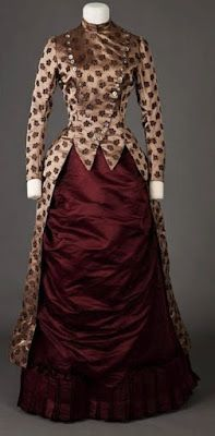 The Goldstein Museum of Design hat | 1885-1886 The Goldstein Museum of Design; 1888 Afternoon Dress Charles ...