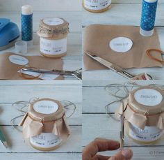 Mermelada 2 Collage Honey Packaging, Candle Packaging, Cookie Packaging, Bottle Packaging, Food Packaging, Packaging Design, Canning Jar Labels, Jam Label, Diy Gift Box