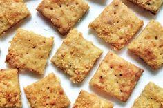 Crunchy Parmesan Crackers: Blog   King Arthur Flour