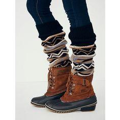 Free People Sorel Winter Fancy Weather Boot