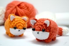 A digital pattern with instructions to crochet your own cute amigurumi fox plushie.The pdf file includes a written crochet pattern for a fox, and a printable template for the felt details. There are 8 colour photographs, assembly instructions, and suggestions for variations to customise your own...