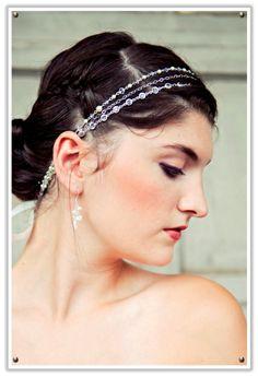 Veiled Haven - The Wedding Inspiration Blog: fine & fleurie: femine hair accessories
