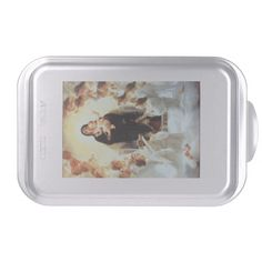 Mother Mary And Baby Jesus Cake Pan http://www.zazzle.com/mother_mary_and_baby_jesus_cake_pan-256724422593619554?rf=238271513374472230  #christmas  #christmasdécor