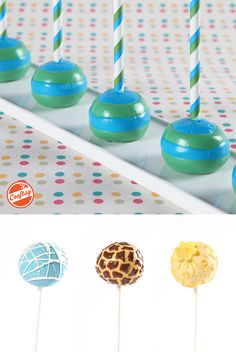 Free class! Make gorgeous cake pops that can't be topped. Learn dazzling decorating techniques: marbling, brush embroidery, triple dipping, piping and more from expert Valerie Pradhan.