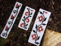 3 Bookmark Set Cross Stitch Pattern by CamisTheCrossStitch on Etsy
