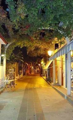 back street at the island of Limnos φωto :Gogo Christou