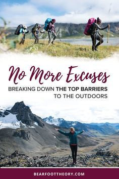 What's your excuse for not spending time outside? Too tired? No time? In this blog post, I help you squash whatever obstacles may be preventing you from hitting the trail. I share some of the top excuses that I hear over and over again and actionable tips for overcoming those barriers.