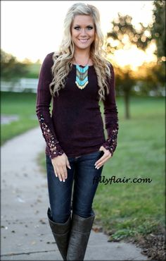 love this, but nix the shape of the necklace and go for a scarf, or a wider statement necklace in same color :)