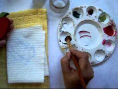 """Corto video mostrando como """"flotar"""" una pieza de MDF con pintura acrílica y """"Easy float"""". Manualidades Gesi, San José, Costa Rica."""