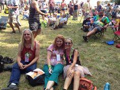 Philly Folk Fest with friends, Sherry Wallen & Greg Jones