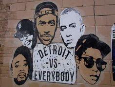 I Love Detroit MI | Detroit Street Art - 20 New Discoveries - Autumn 2016