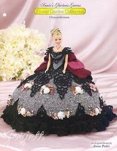 Chrysanthemum Annie's Glorious Gowns Flower Garden Collection Crochet Patterns   eBay