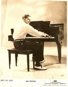 Rockin' Country Blues — Jerry Lee Lewis, promotional picture Sun Records,...