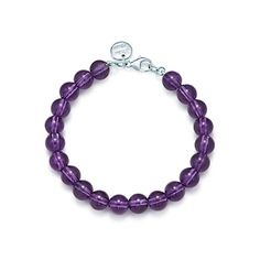 e2d4cca0a Tiffany & Co. | Item | Paloma Picasso® bead bracelet in amethyst with  sterling