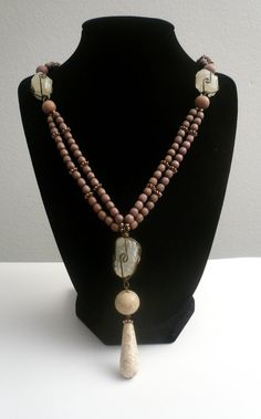 Beautiful Mauve and Fossil Coral by GlamRox. www.etsy.com/shop/glamrox