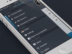 30 Dark iPhone App UI Designs - UltraLinx