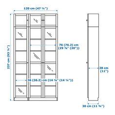 billy oxberg b cherregal wei die t r b cherregale und ikea. Black Bedroom Furniture Sets. Home Design Ideas
