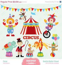Circus Digital Clipart