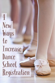 Misty Lown of More Than Just Great Dancing shares 4 great tips for mixing up your class offerings and boosting registration!