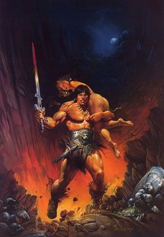 Conan games always give Conan a sword: sometimes if we're lucky, it's something…
