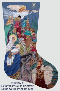 Hi Everybody... Robin here.   Wrapping up our feature on Memphis Needlepointers.   I'd like to now introduce Susan Brimmer; former Memphian ...