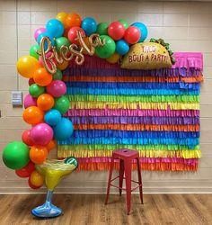 Mexican Birthday Parties, Mexican Fiesta Party, Fiesta Theme Party, 18th Birthday Party, Mexican Party Decorations, Birthday Party Decorations, Balloon Garland, Balloons, Party Time