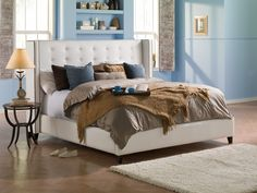 With its solid colour palette and rich plush texture, the contemporary Opus collection has a sophisticated design sense. How To Clean Furniture, Rustic Furniture, Furniture Cleaning, Awesome Bedrooms, Beautiful Bedrooms, Cream Bedroom Furniture, Rug Over Carpet, Furniture Manufacturers