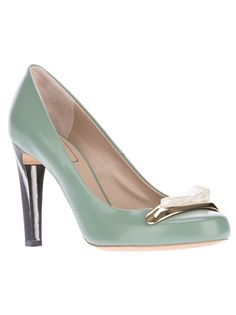This color is even better! CHLOÉ Stone Detail Pump