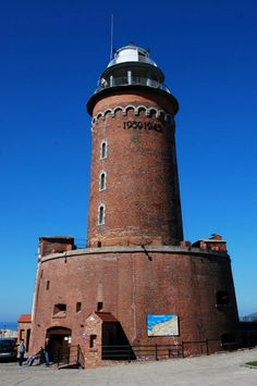 Kołobrzeg Lighthouse, Poland.