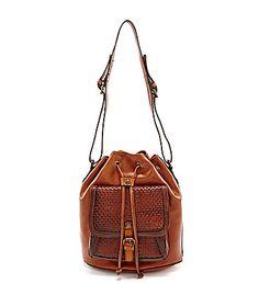 Patricia Nash Comano Woven Drawstring Bag #Dillards
