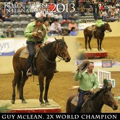 Road to the Horse - The World Championship of Colt Starting! Guy McLean! Also had the honor of meeting this man!