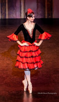 Elena Zhadan The Spanish Dance - The Royal Moscow Ballet Dublin Oct 2013 © Keith Dixon Photography