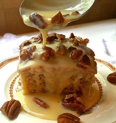 Southern Pecan Praline Cake is about as southern as you can get. If you like pecans and pralines you will love this easy to make, decadent and delicious cake. Pecan Praline Cake, Butter Pecan Cake, Coconut Pecan Frosting, Pecan Pralines, Pecan Recipes, Cake Recipes, Dessert Recipes, Quick Dessert, Recipes Dinner