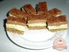undefined Hungarian Recipes, Hungarian Food, Cake Bars, Tiramisu, Food To Make, Paleo, Candy, Cookies, Ethnic Recipes